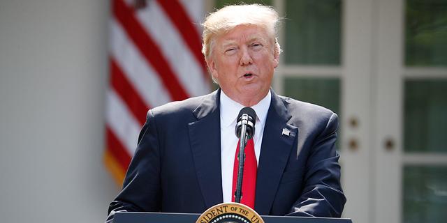 """טראמפ הודיע: ארה""""ב פורשת מהסכם האקלים של פריז - """"אינו הוגן עבורנו"""""""