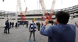 אוהדי טוטנהאם אצטדיון נבנה, צילום: רויטרס
