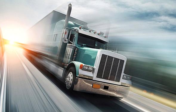 משאית הובלות. הפלטפורמה של החברה מאפשרת חיבור בין לקוחות ומפעילי ציים
