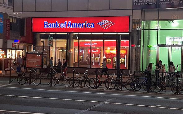 סניף בנק אוף אמריקה במנהטן