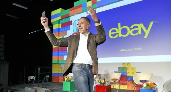 """דווין וניג, מנכ""""ל eBay בוועידה, צילום: צביקה טישלר"""