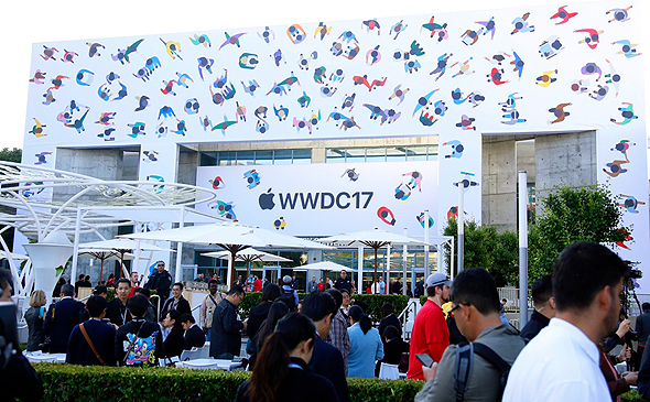 אירוע אפל WWDC 2017, צילום: engadget