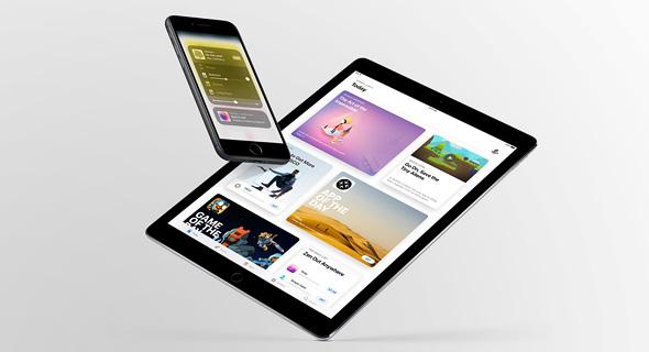 אפל אייפד ios 11 מציאות מוגברת 1, צילום: Apple