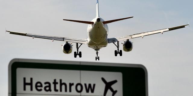 בגלל רחפן: ההמראות מנמל התעופה הית'רו הופסקו לזמן קצר
