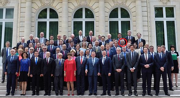האוצר שורה שנייה מלמעלה משה כחלון אמנה מולטילטרלית מסים פריז
