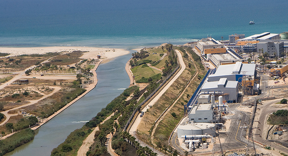 Hadera desalination plant, Israel. Photo: IDE