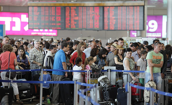 Tel Aviv's Ben Gurion airport. Photo: Orel Cohen