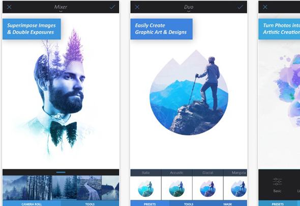 Enlight אפליקציה עיבוד תמונה, צילום: iTunes