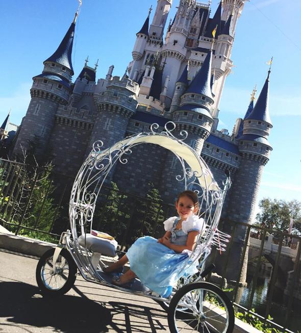 כרכרת סינדרלה דיסני וורלד אורלנדו  2, צילום: princesscarriagerentals