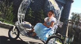 כרכרת סינדרלה לילדים, צילום: princesscarriagerentals