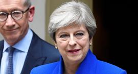 בריטניה בחירות תרזה מיי הכרזה, צילום: רויטרס