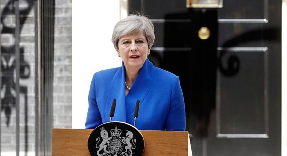 תרזה מיי ראשת ממשלת בריטניה , צילום: איי פי
