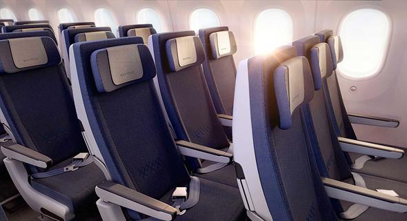מטוס דרימליינר 787 אל על 1, הדמיה: PriestmanGoode