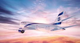 מטוס דרימליינר 787 אל על 2, הדמיה: PriestmanGoode