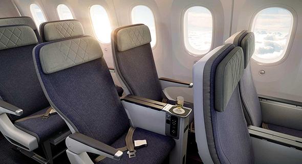מטוס דרימליינר 787 אל על 6, הדמיה: PriestmanGoode