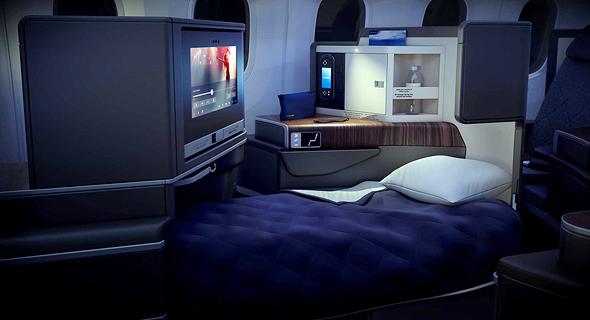 מטוס דרימליינר 787 אל על 8, הדמיה: PriestmanGoode