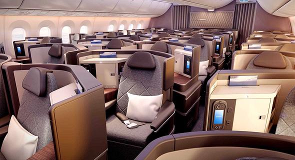 מטוס דרימליינר 787 אל על 9, הדמיה: PriestmanGoode