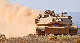 טנק M1, צילום: greatfon