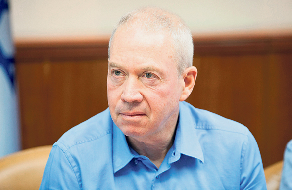 Education minister Yoav Galant. Photo:Omer Mesinger