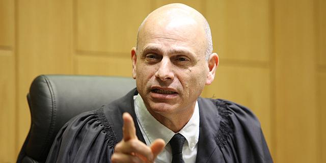 """נשיא המחוזי איתן אורנשטיין. """"נסיבות המקרה מיוחדות"""", צילום: אוראל כהן"""