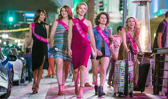 """הסרט """"לילה קשוח"""". """"יש מקום לקומדיות של נשים על נשים"""" , צילום: אם סי טי"""