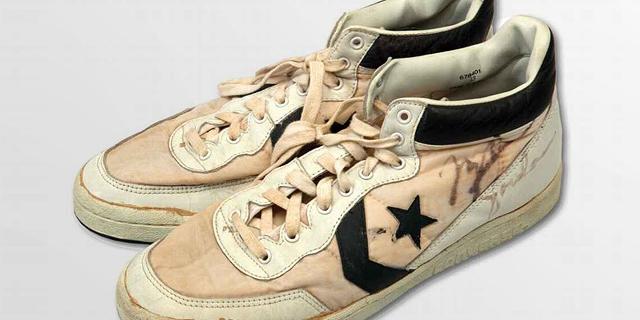 נעליים משומשות של ג'ורדן נמכרו ב-190 אלף דולר במכירה פומבית