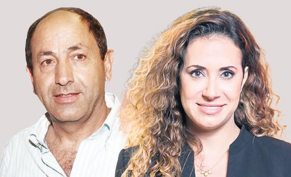 """מימין טל גרנות גולדשטיין מנכ""""לית HOT ו רמי לוי, צילומים: אוראל כהן"""