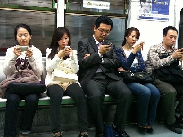 משתמשי מובייל בסין, צילום: Bruno's Public Diary