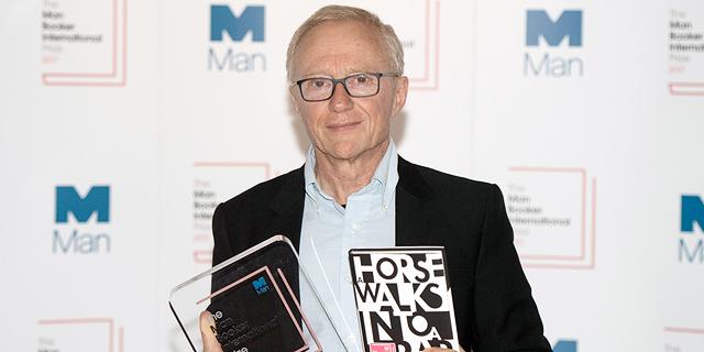 הסופר דוד גרוסמן זכה בפרס היוקרתי מאן בוקר