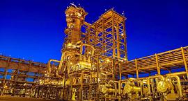 מתקן של חברת הנפט הסעודית ארמקו, צילום: רויטרס
