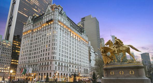 מלון פלאזה בניו יורק. מי שנפגעו במשבר היו בעיקר בעלי המינוף