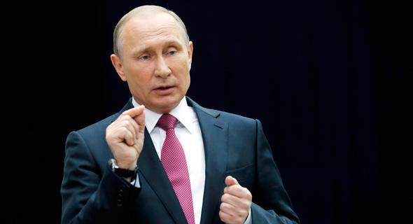 ולדימיר פוטין נשיא רוסיה, צילום: איי פי
