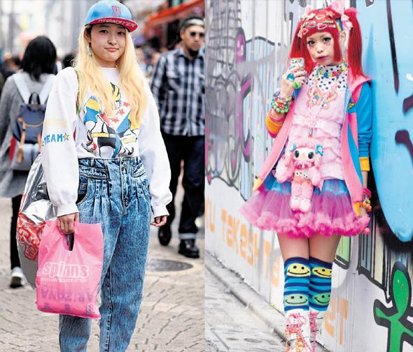 נערות הרג'וקו ביפן. האופנה כהשראה לאוכל