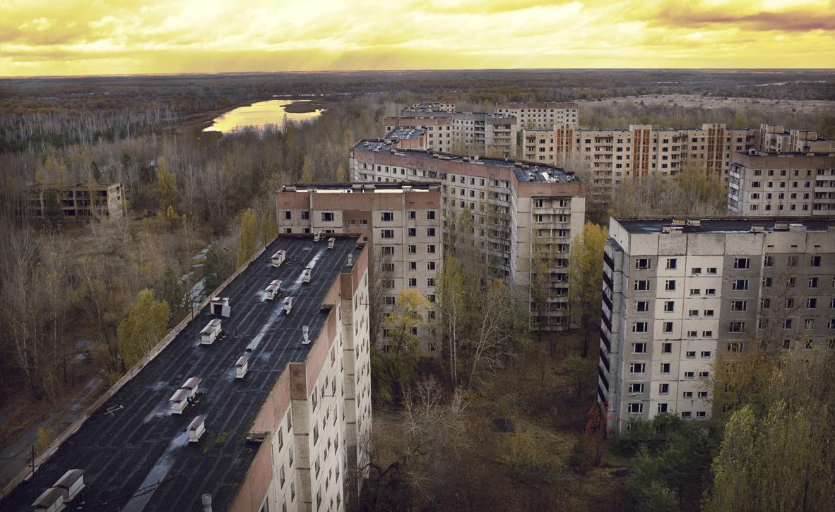 פוטו ערי רפאים פריפייט אוקראינה, צילום: שאטרסטוק
