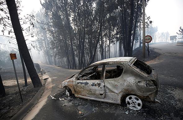 למעלה מ-60 הרוגים בשריפת ענק בפורטוגל, צילום: רויטרס
