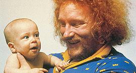 מתוך הקמפיין לעידוד אבות לצאת לחופשת לידה בשבדיה