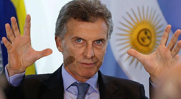 נשיא ארגנטינה מאוריסיו מאקרי