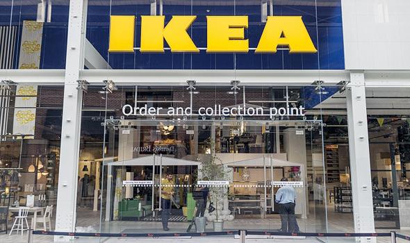איקאה חנות בעיר, סטראטפורד סיטי אנגליה , צילום: designweek