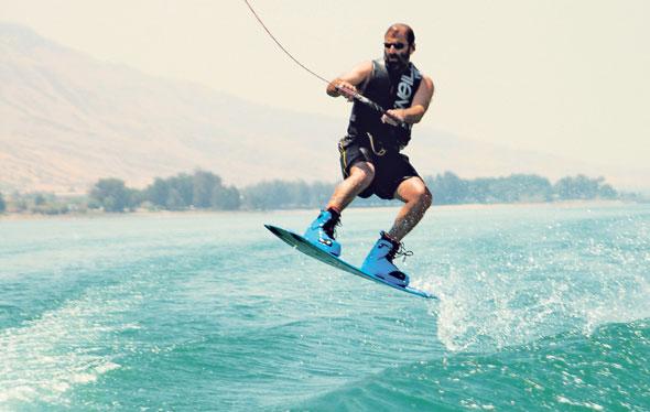 """נחום בסקי מים. """"ספורט אקסטרים מלמד אותך להתגבר על תקלות גם בלחץ הכי גדול"""""""