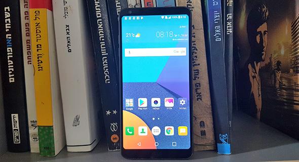 LG G6 סמארטפון, צילום: רפאל קאהאן
