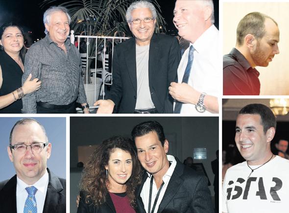 משמאל בכיוון השעון: איריס ושאול אלוביץ