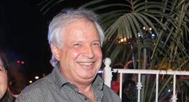 איריס ו שאול אלוביץ' יחד עם משה אדרי ו אילן גרינבוים, צילום: אוראל כהן