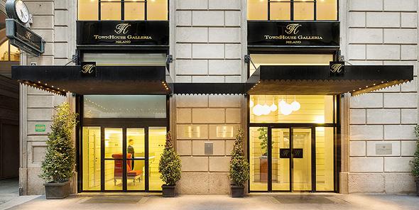 מלון טאון האוס גלריה במילנו, צילום: ויקימדיה