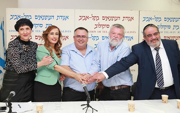 """ח""""כ דוד ביטן מסיבת עיתונאים על ההחלטהה לעלאת קצבת הנכות, צילום: אוראל כהן"""