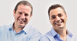 Trax co-founders Joel Bar-El (left) and Dror Feldheim. Photo: PR