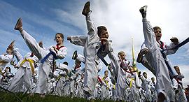 טאקוונדו פדרציית ה טאקוונדו העולמית ספורט אולימפי, צילום: איי אף פי