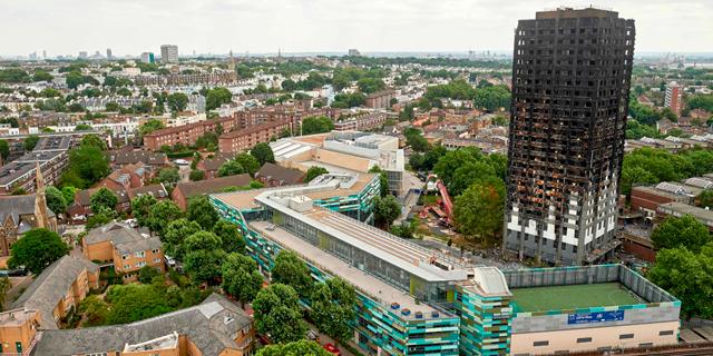 """ארסנל וצ'לסי יתרמו 1.25 מיליון ליש""""ט לנפגעי השריפה במגדל גרנפל"""
