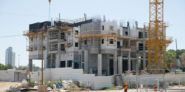 """הלמ""""ס: ירידה של כ-17% ברכישת דירות חדשות בשנה החולפת"""