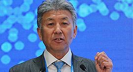 """לו ז'יראן יו""""ר ומנכ""""ל ניוסופט הסינית ועידת חדשנות ישראל סין, צילום: Neusoft"""