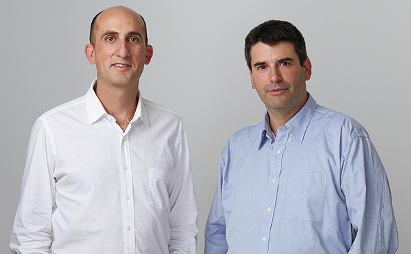Upstream co-founders Yoav Levy and Yonatan Appel. Photo: Ofir Abe